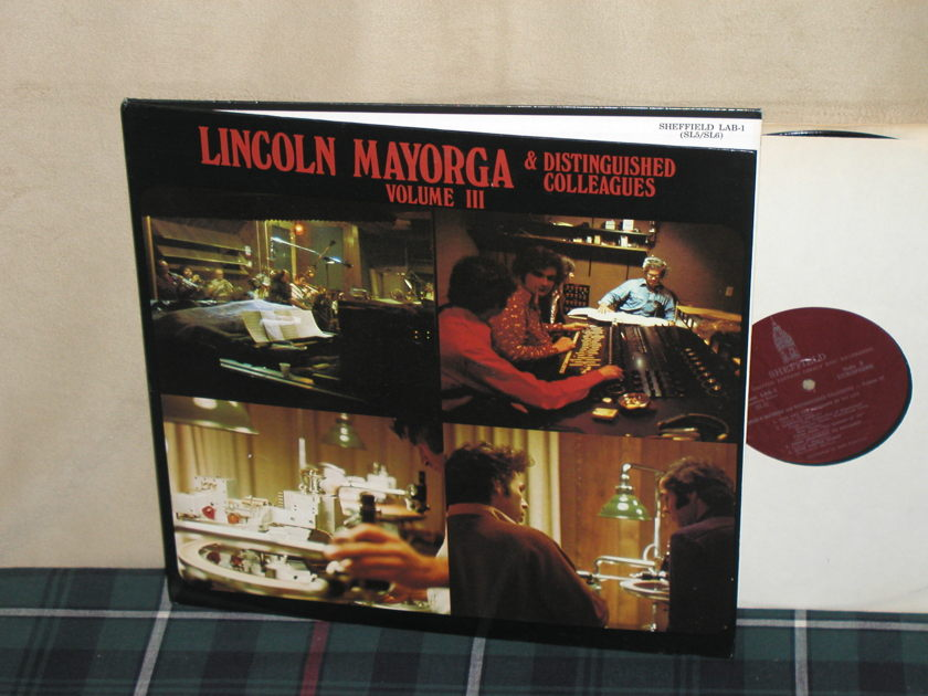 Lincoln Mayorga & Distinguished Colleagues - Volume III    (LAB-1) Sheffield D2D Tower Label First pressing