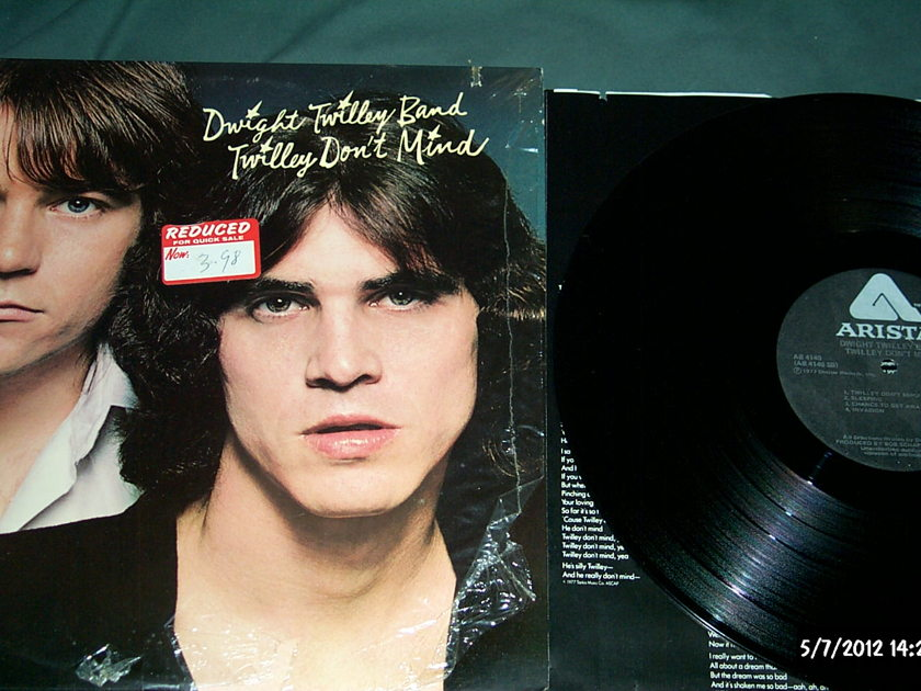 Dwight Twilley Band - Twilley Don't Mind LP NM
