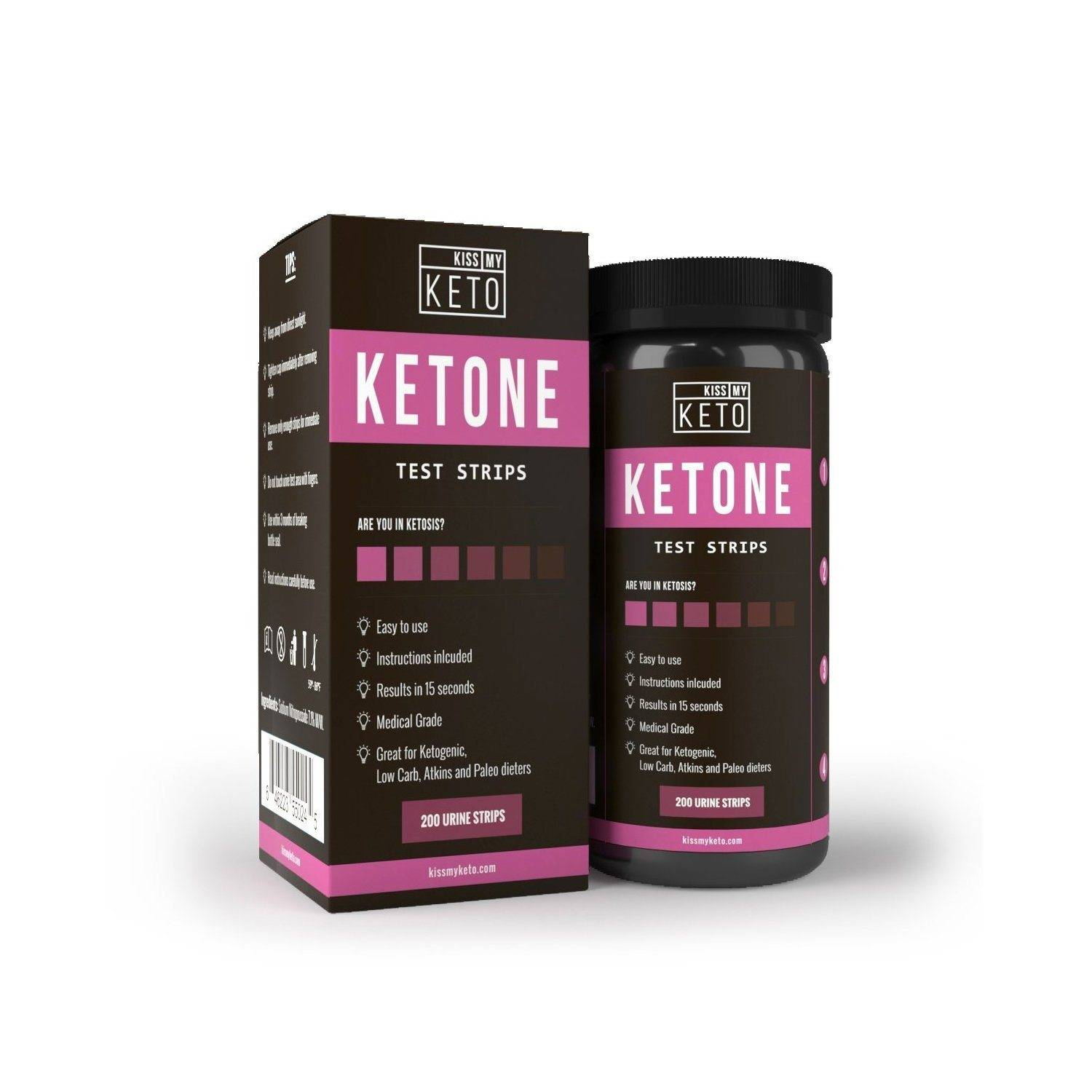 A Guide To Ketone Strips Learn About Keto Strips Today Kiss My Keto