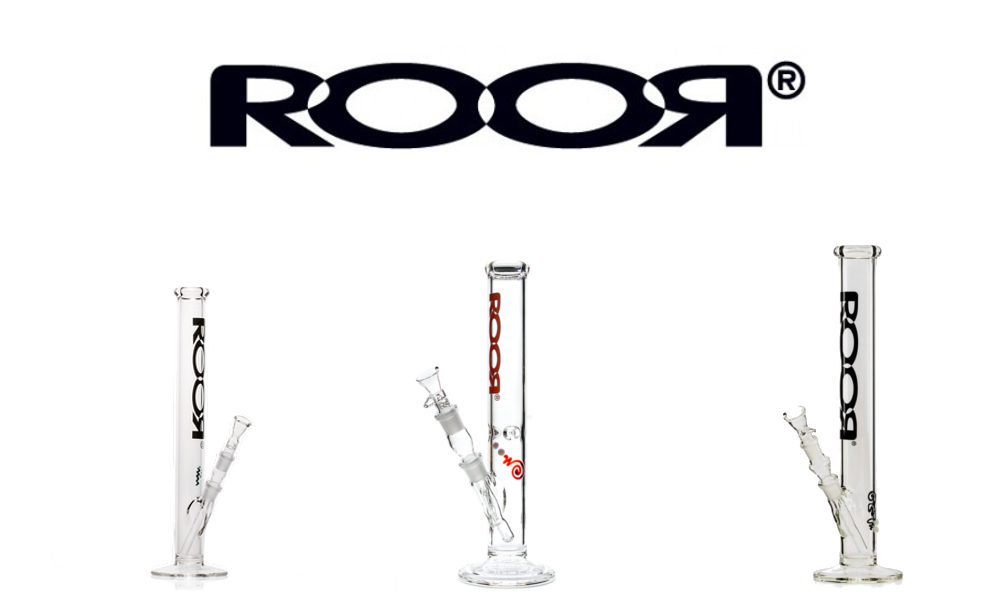 RooR Glass Bongs Made In Germany