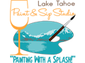 Lake Tahoe Paint and Sip for TWO!