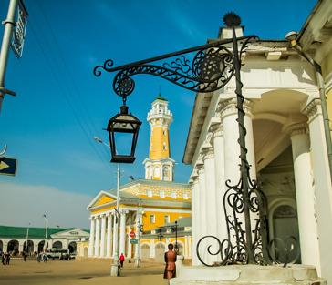 Экскурсия по Костроме