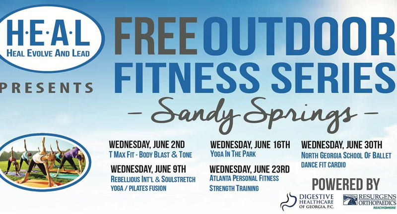 Free Outdoor Fitness Sandy Springs