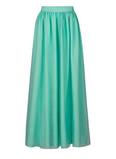 многослойная юбка с фатиновым верхом