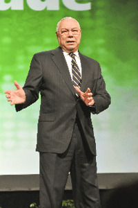 Colin Powell sees it as an RIA's responsibility to serve his or her fellow citizens.