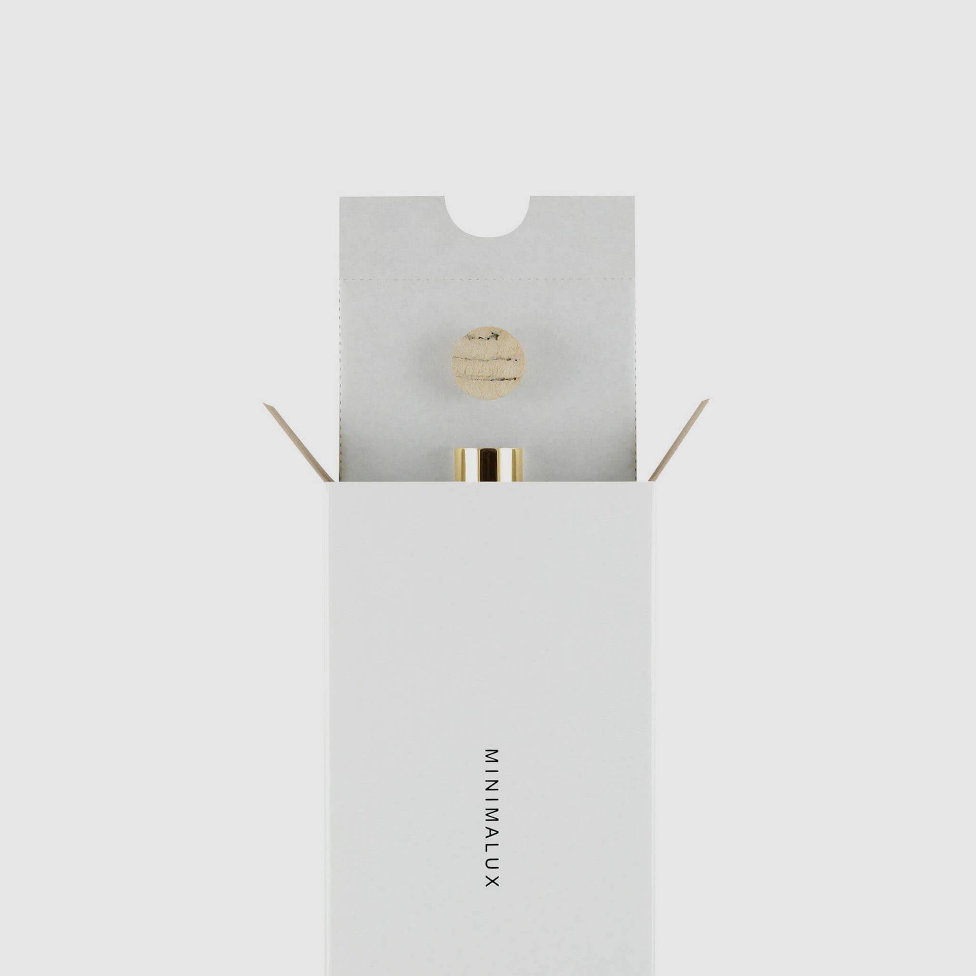Gold Pill Tube packaging