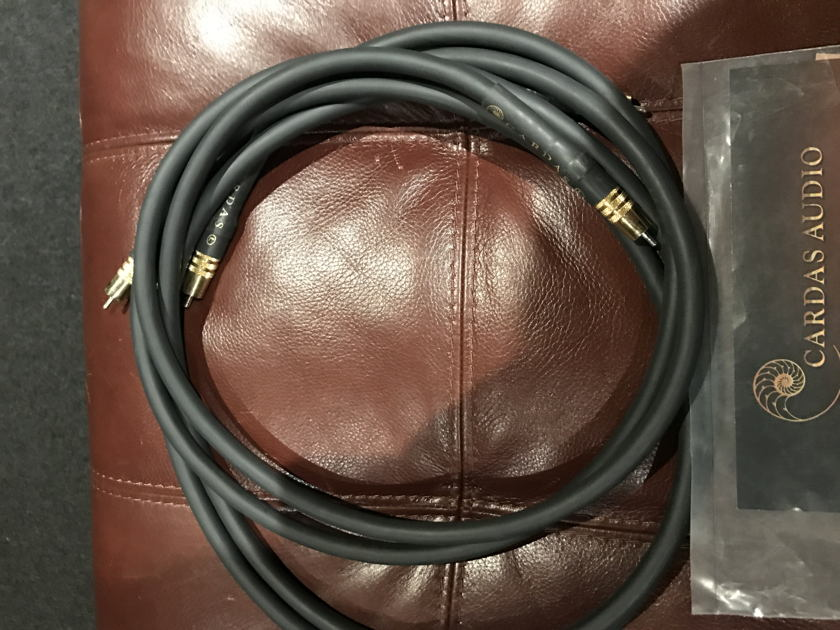 Cardas Audio golden reference 2 meter  RCA 2 pairs available from authorize dealer