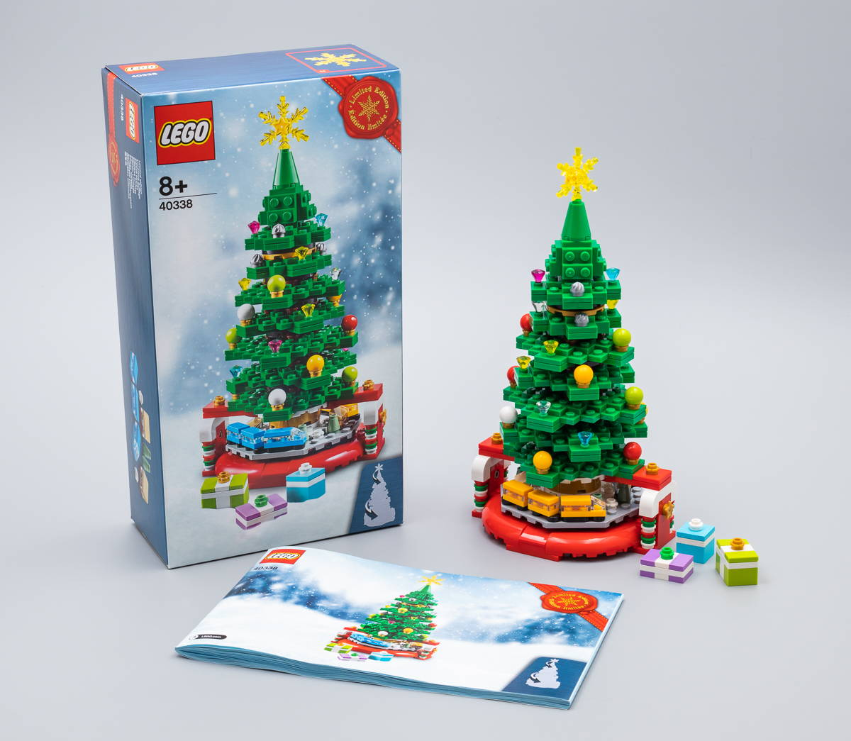 lego 40338 box and booklet