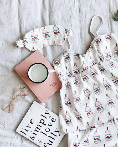 Пижамный топ для сна (молоко)