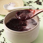 Pulut Hitam (Black Glutinous Rice Sweet Soup)