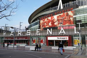 See Arsenal's Emirates Stadium