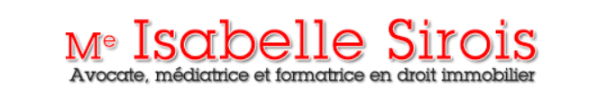 Me Isabelle Sirois avocate