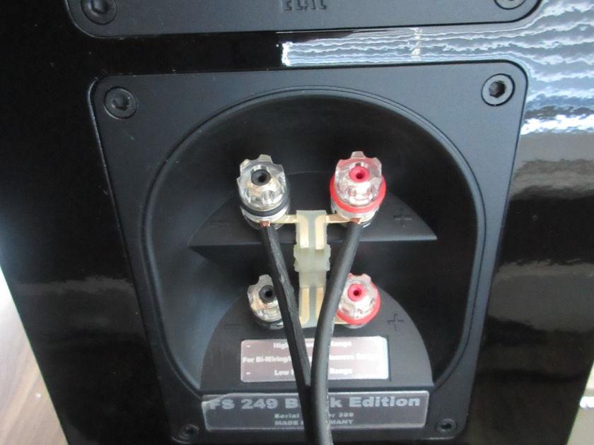 ELAC FS249 Black Edition Loudspeakers