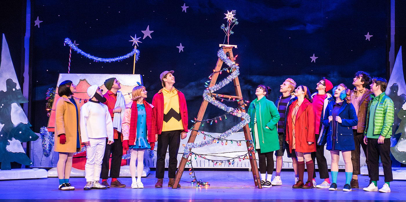 A Charlie Brown Christmas Live On Stage at the Shubert Theatre