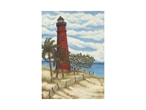 """112 """"Red Lighthouse"""" Giclee by Mary Klein"""