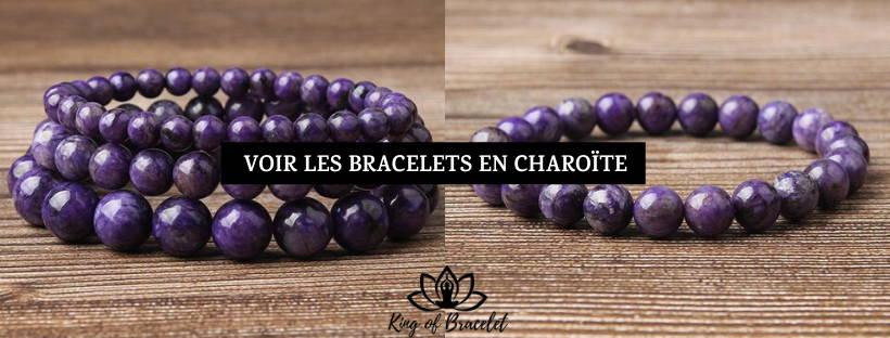 Bracelets en Charoïte - King of Bracelet