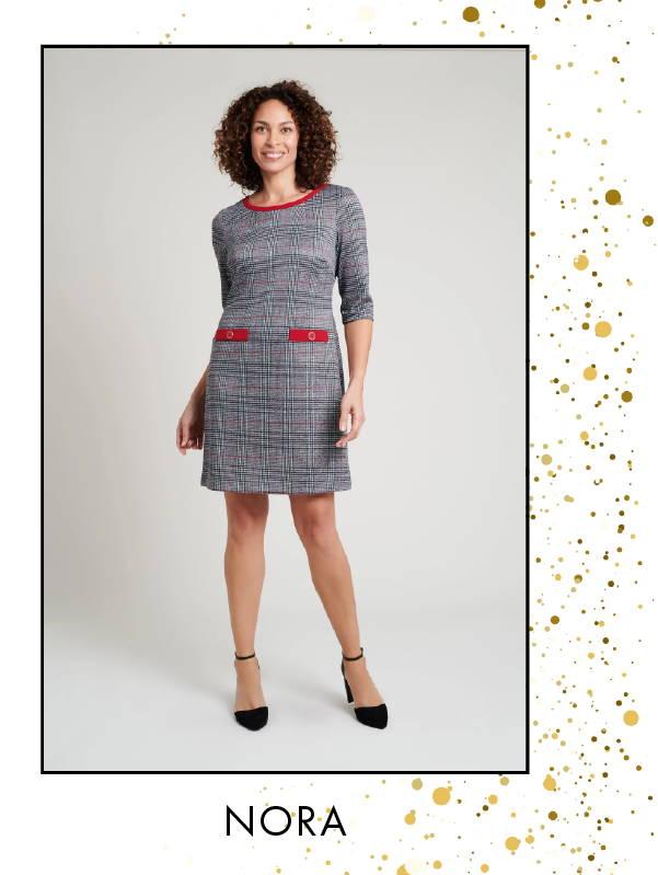 Shop Erin Textured Dress >
