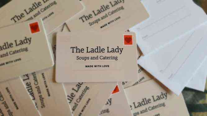Logo - The Ladle Lady - Get your grub on