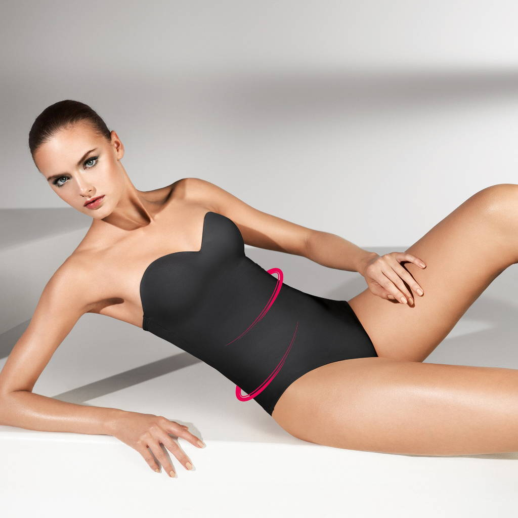Wolford mat de luxe forming string body