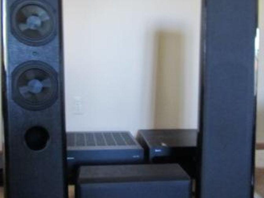 Outlaw Audio; RBH; Sonus Faber; Pioneer Elite -  Outlaw 7700, 990, LFM-1 Plus (two units); RBH MC-6C, Sonus Faber Piccolo Solo, Grand Piano Home, Elite DV-47AI  Complete Home Theater System