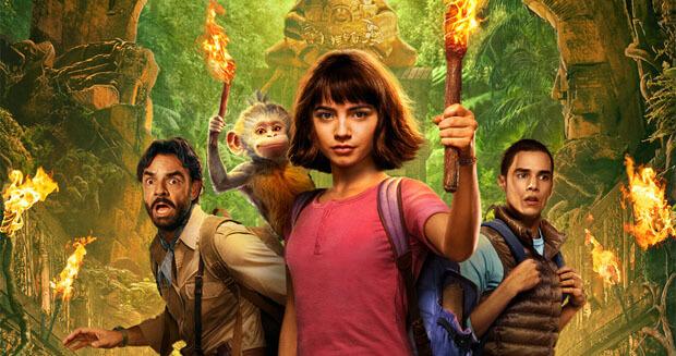 Слушатели «Юмор FM» отправляются в джунгли вместе с героями семейной приключенческой комедии «Дора и Затерянный город» - Новости радио OnAir.ru