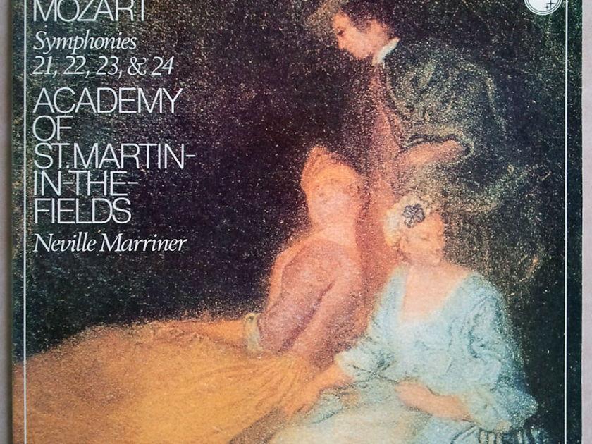 Philips/Marriner/Mozart - Symphonies Nos. 21, 22, 23, 24 / NM