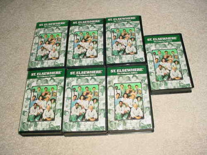 ST ELSEWHERE TV SHOW - LOT OF 7 VHS TAPES  HOWIE MANDEL