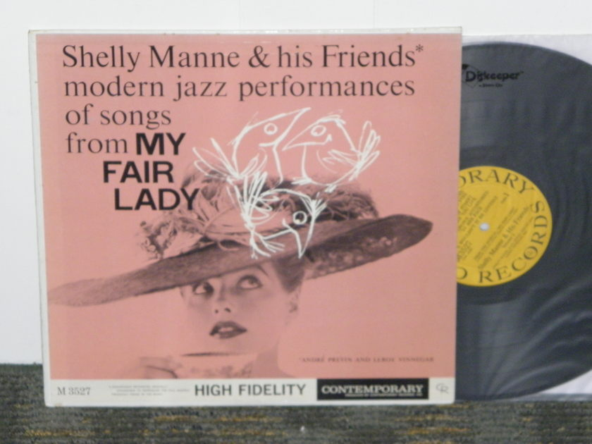 "Shelly Manne - ""My Fair Lady""  Contemporary MONO first pressing M3527"