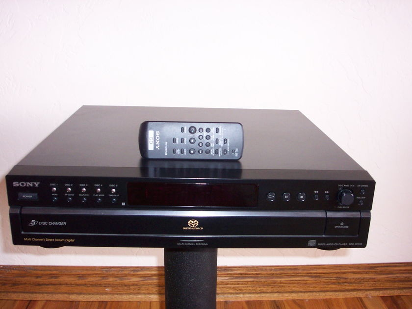 Tube Research Labs TRL Modified Sony SCD-CE595 SACD Player