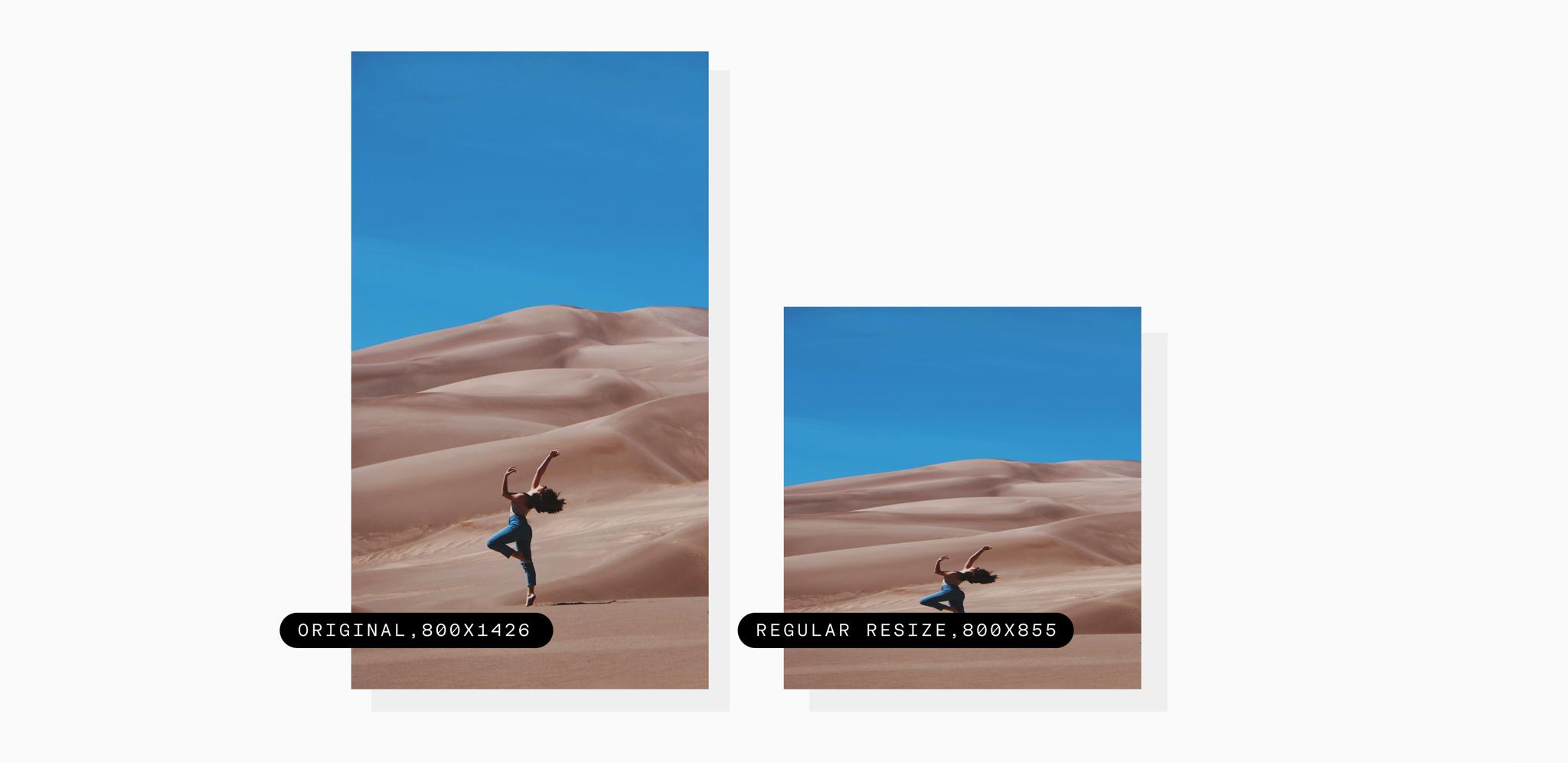 girl dancing in the desert