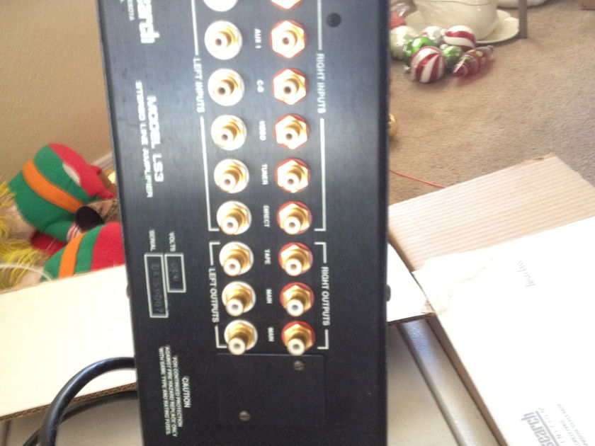 Audio Research LS3 For Sale Audio Research LS3
