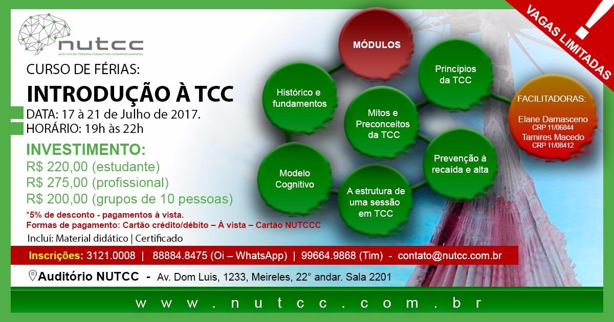 Curso de Férias: Introdução à TCC
