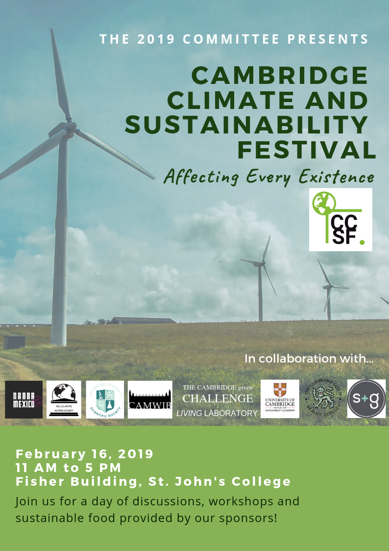 Cambridge Climate and Sustainability Festival