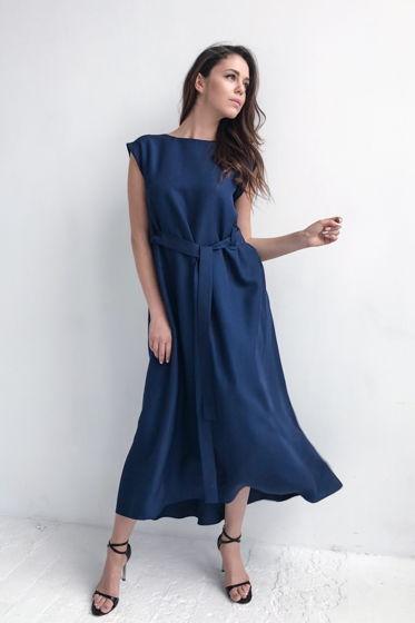 Глубокое синее море - платье #5