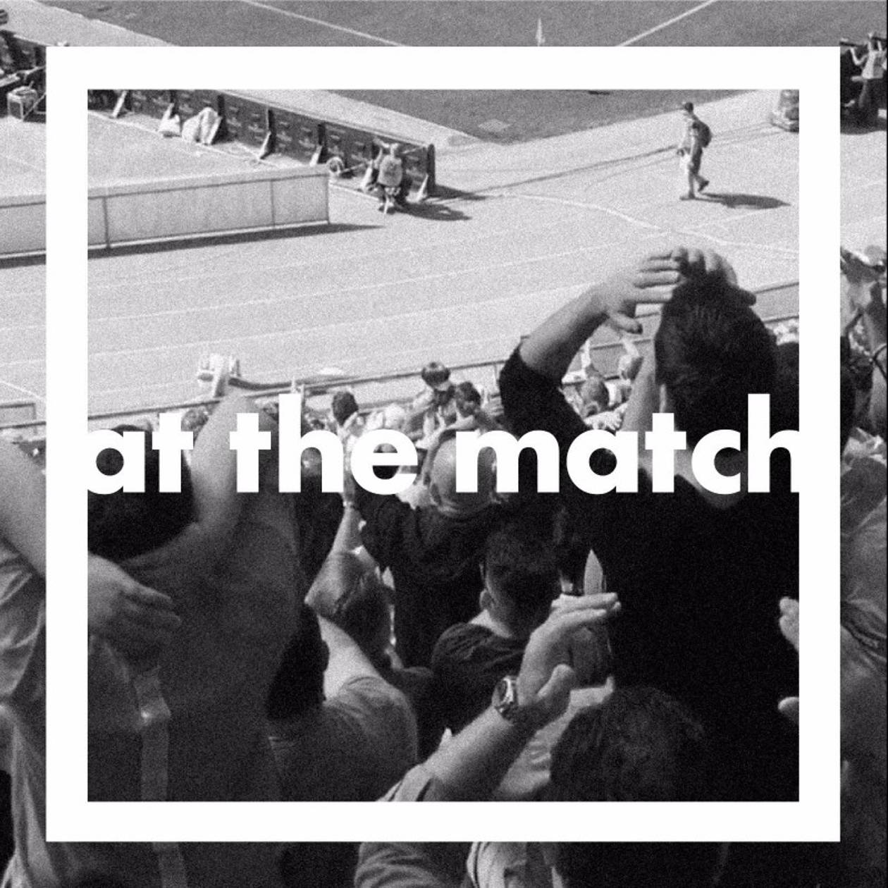 Artwork for the At The Match podcast.
