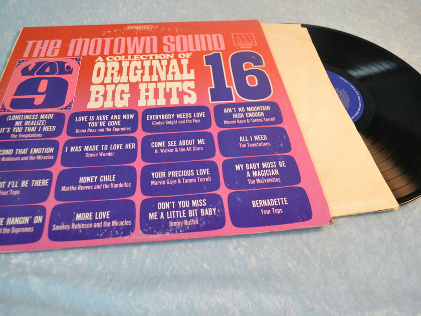 "VARIOUS MOTOWN  - ""Original Big Hits Collection 16""  LP/Vinyl"
