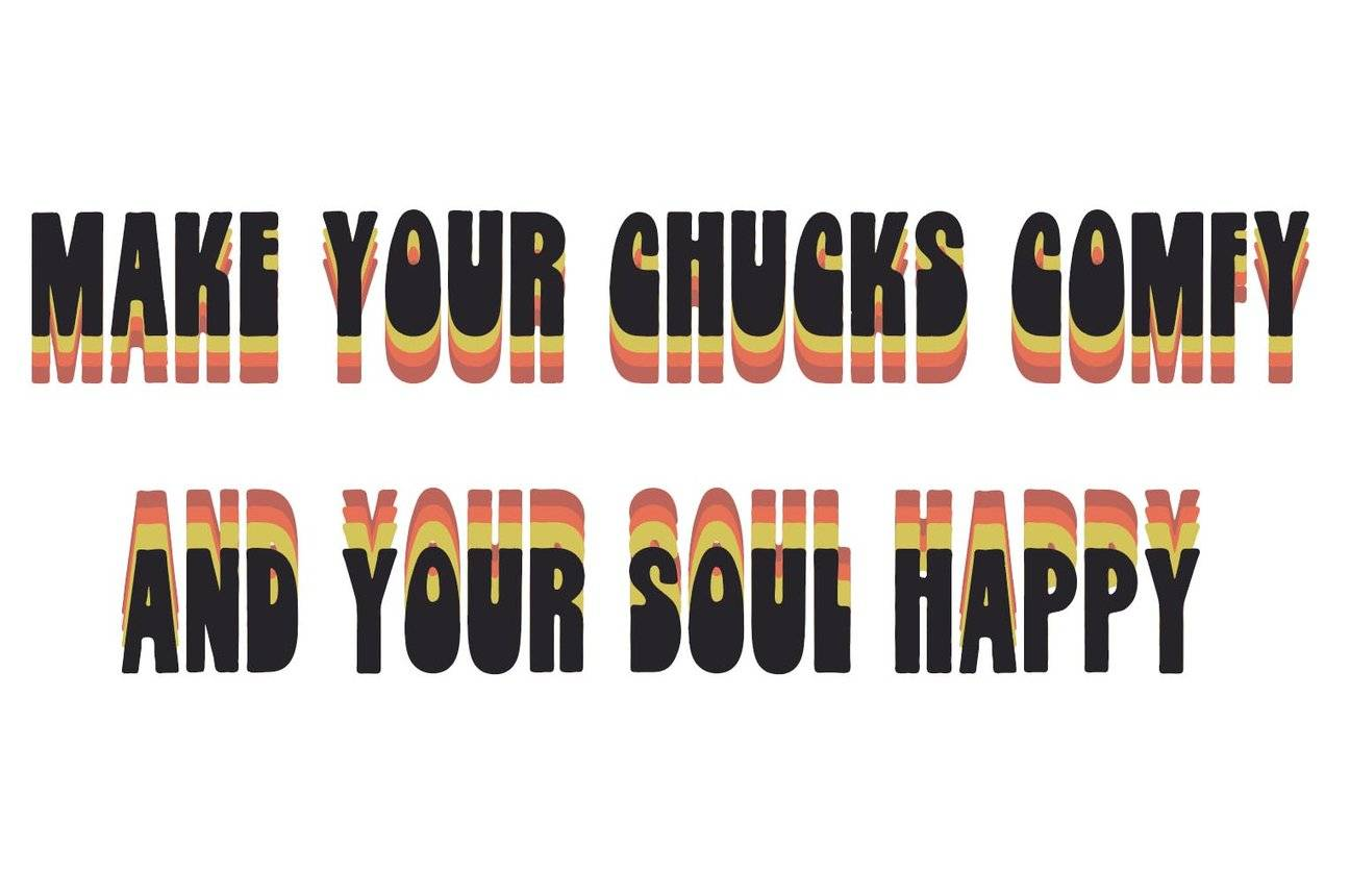 FOOTSOULSFfor Your Chucks - Feel Your Soul