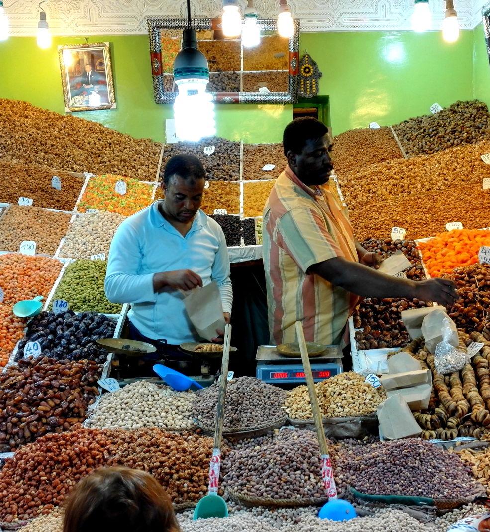 Marokkanische Nüsse Gewürznüsse