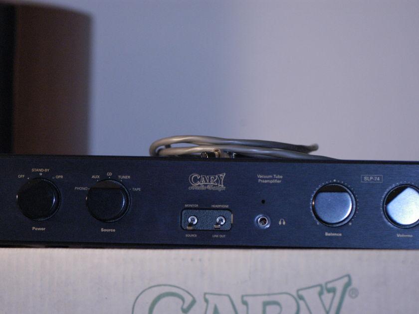CARY AUDIO DESIGN SLP-74 Tube Preamplifier
