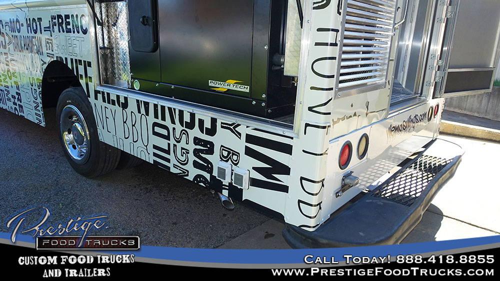 quiet food truck generator