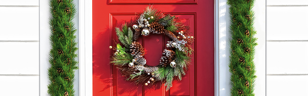 Mödling - Key Visual Seasonal Winter Wreath 2017