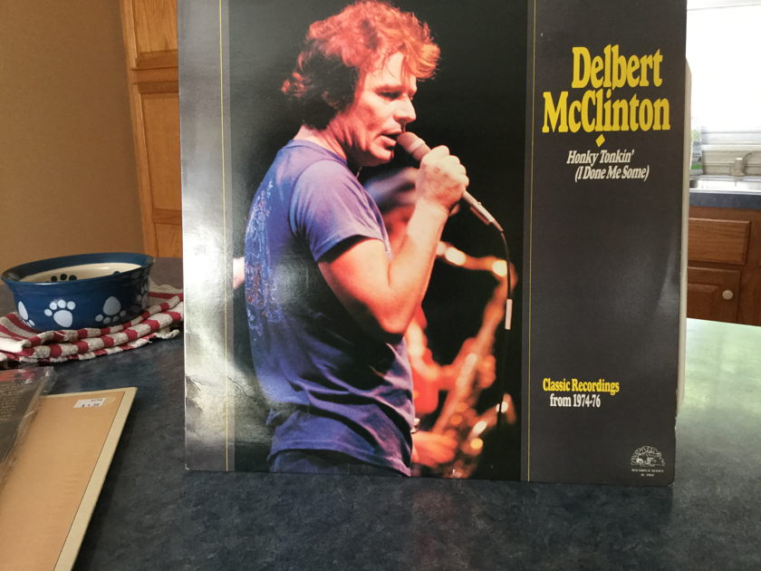 DELBERT McClinton - HONKIN TOKIN' (I DONE ME SOME) Classic Recordings from 1974-76