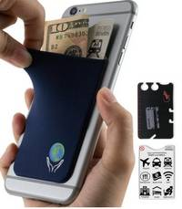 phone wallet Earth by gecko travel tech