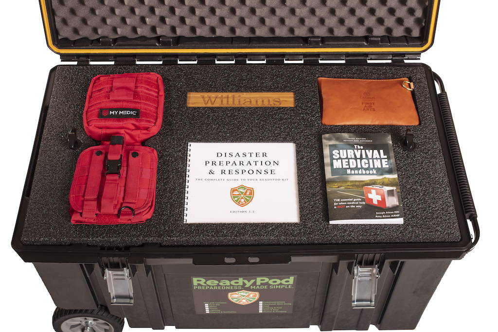 ReadyPod™ shelter-in-place kits contain emotional well-being items for recovery