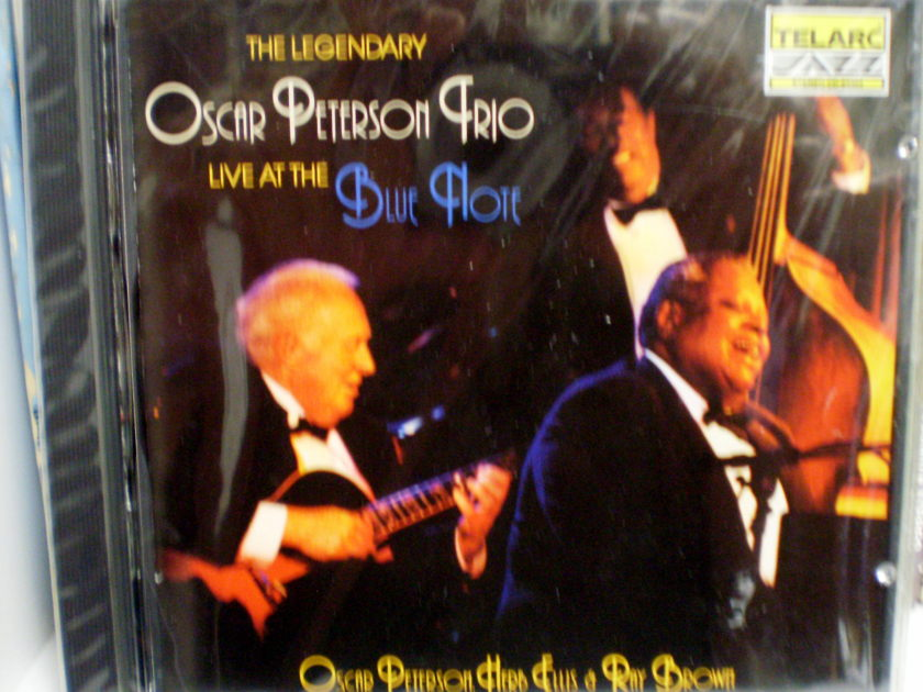 OSCAR PETERSON TRIO - LIVE AT THE BLUE NOTE TELARC CD-83304, STILL FACTORY SEALED