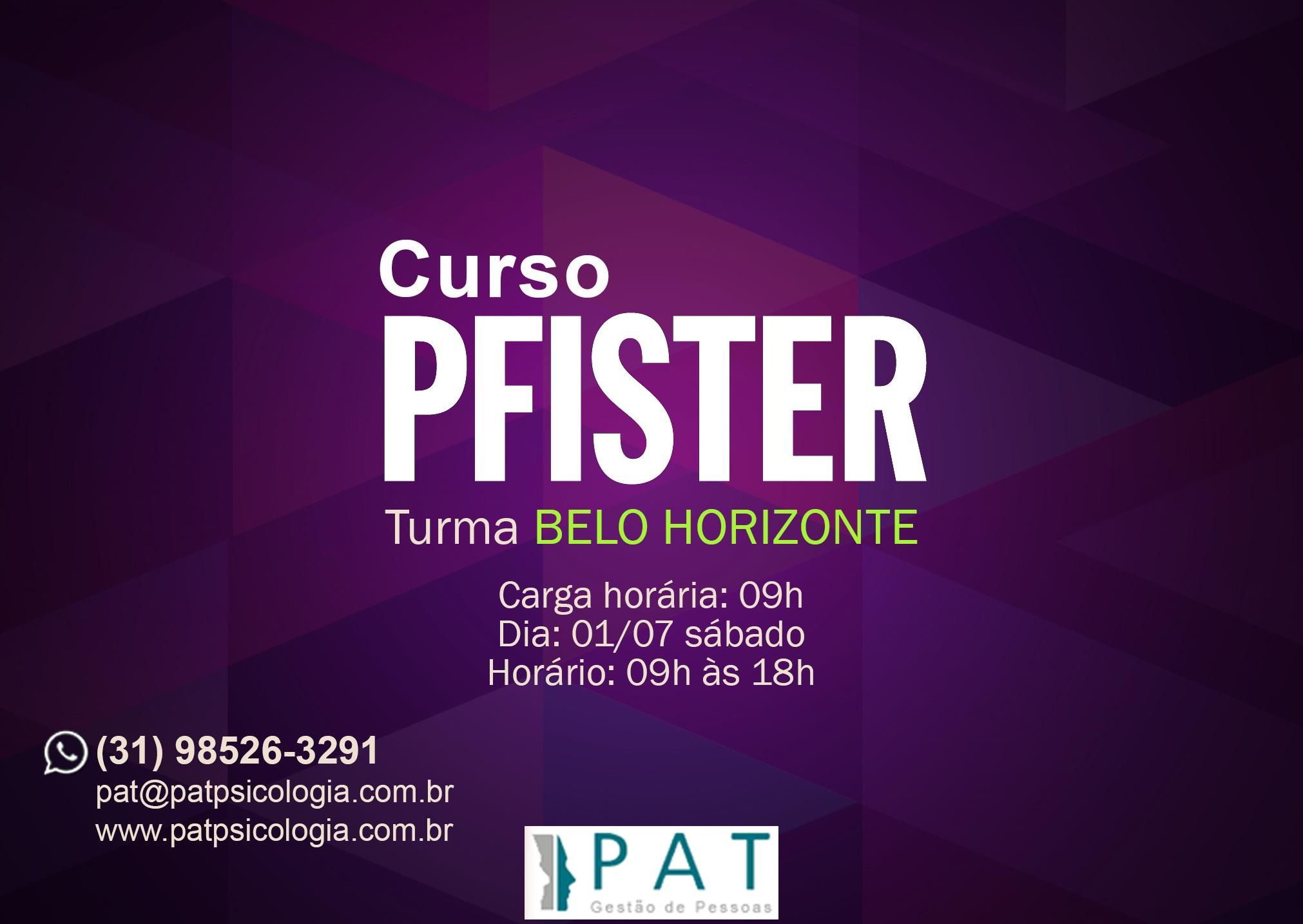 Curso de Pfister - Turma Belo Horizonte