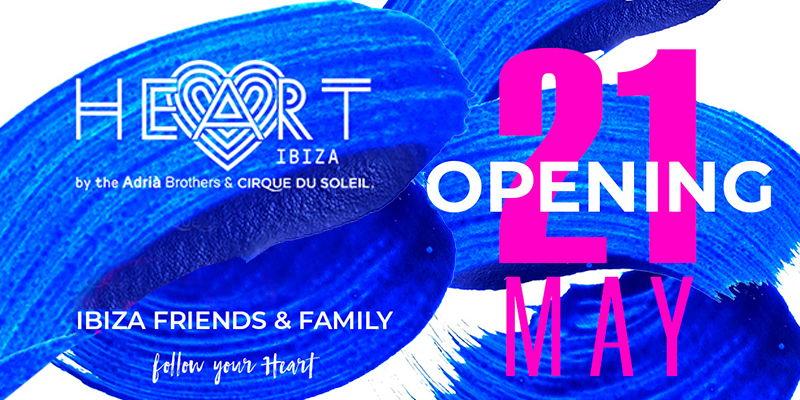 Heart Ibiza opening party 2020 tickets