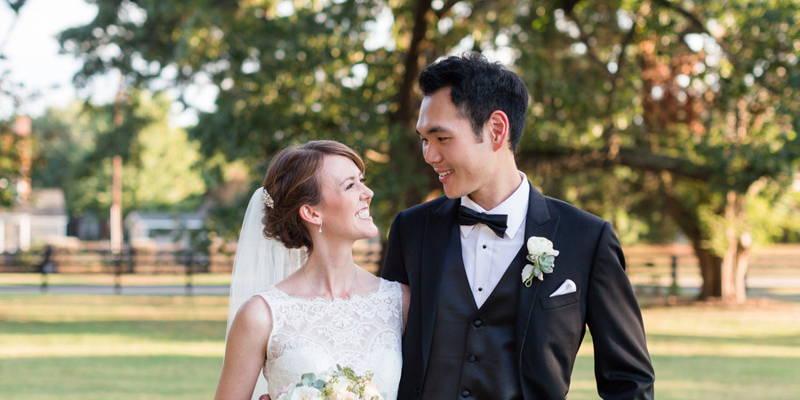 International Love and a Langtree Plantation Wedding