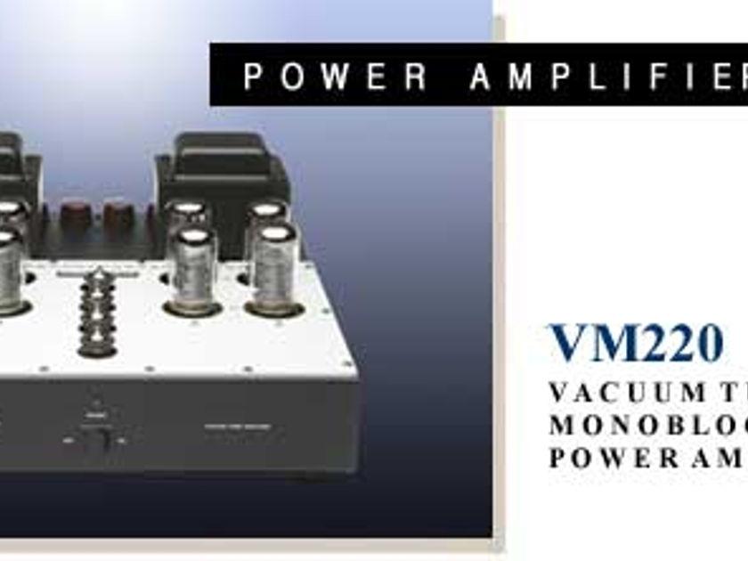 Audio Research VM220 Monoblock Amplifiers