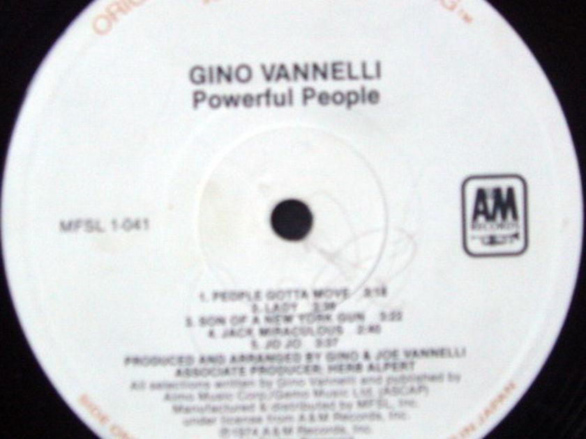 ★Audiophile★ MFSL / GINO VANNELLI, - Powerful People, NM!